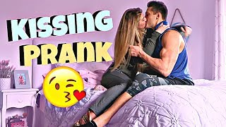 I Can't Stop Kissing You Prank