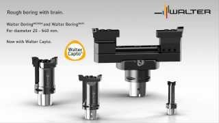 Walter Tools Rough Boring MEDIUM and Boring MAXI with Walter CAPTO Diameter 20 - 640 mm CNC