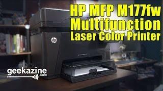 HP Multifunction Color Laser Printer M177fw