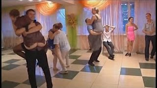 Funny Wedding Games // DANCING SKIRTS OOPS WEDDING CONTEST GAME