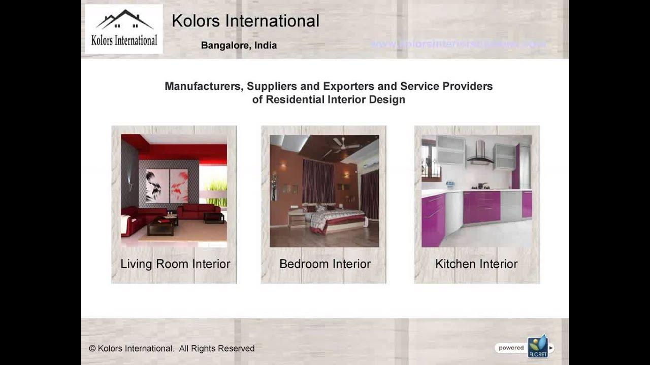 Interior Design Services In Bangalore Youtube