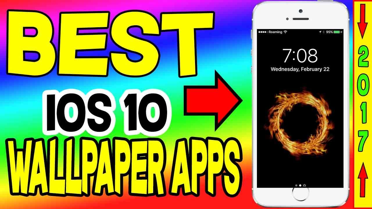Best Free Wallpaper Apps IOS 10 Five Live IPhone 7 IPad IPod