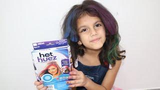 شوفوا سوار شو عملت بشعرها👩🎨 !| Kids Get the Hair Color of Their Wildest Dreams