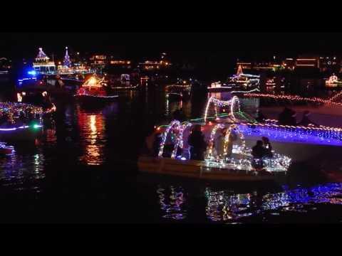 2016 Holiday Small Boat Parade In Naples, Long Beach (2/2)