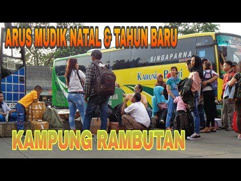 ARUS MUDIK NATAL DAN TAHUN BARU DI TERMINAL KAMPUNG RAMBUTAN   BUS DATANG LANGSUNG DI SERBU PENUMPAN Mp3