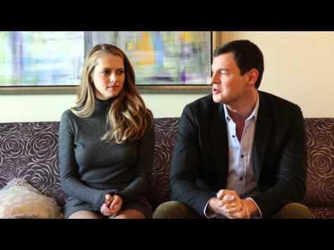 Teresa Palmer and Benjamin Walker talk