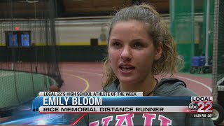 Athlete of the Week: Rice's Emily Bloom