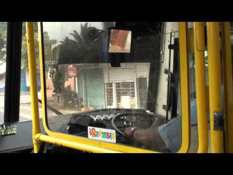 Bus Service in Mauritius-Travelling from Port Louis to Quatre Bornes 2