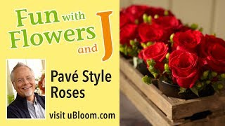 How to Arrange Flowers: The Short Cut &  Longer Lasting Roses!