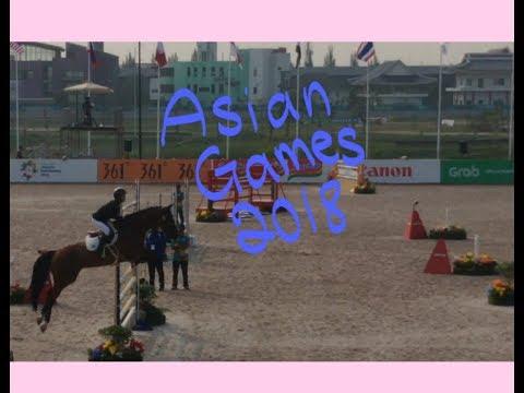 "[Asian Games 2018] Equestrian Jumping ""vlog"""