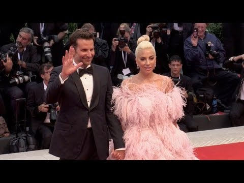 Lady Gaga And Bradley Cooper On The Red Carpet For The Premiere Of A Star Is Born At The Venice Film