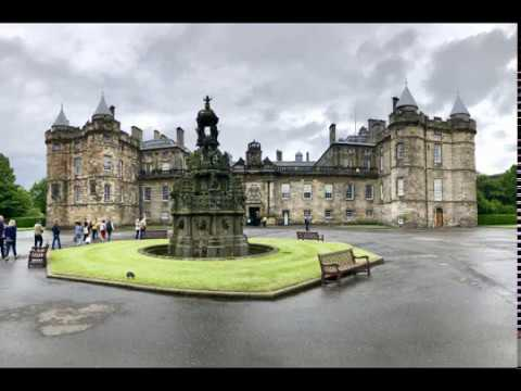Holyrood Palace June 2018 Home of Mary, Queen of Scots