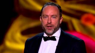 2014 Breakthrough Prize Ceremony: Robert Langer, Jimmy Wales, Michael C. Hall