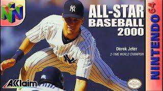 Longplay of All-Star Baseball 2000