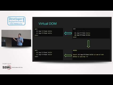 Why React really is different | Jake Ginnivan at DDD Melbourne 2015