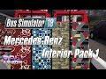 Bus Simulator 18 - Mercedes-Benz Interior Pack 1 Showcase