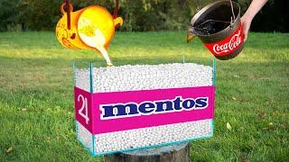 experiment: Coca Cola vs Lava vs Mentos