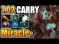 Miracle- [qop] Best Carry Build For Queen Of Pain Dota2 7.02 video