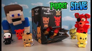 Five Nights at Freddy's Plush Keychain Blind Bag Case Challenge! FIND THEM ALL!