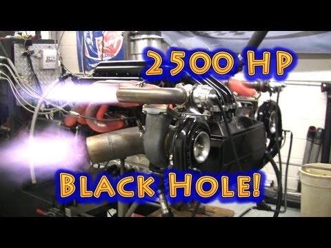 NRE Encounters Black Hole While Testing Engine.  2500 HP 632CI BBC. Nelson Racing Engines. Camaro.