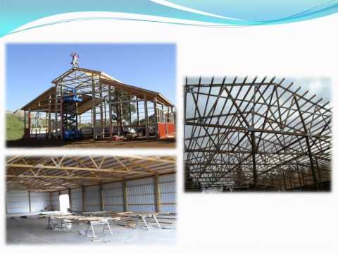 Pole Building Designs - Selecting the right Roof Design for your building