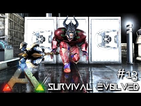 MODDED ARK: Survival Evolved - ALIEN TECH & MEDIEVAL WEAPONS