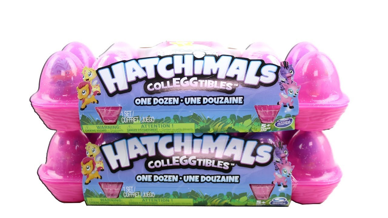 Hatchimals CollEGGtibles One Dozen Egg Carton Crate Mini Small Hatchimal NEW 2