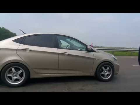 Hyundai Solaris TURBO VS Subaru Forester 2.5 TURBO