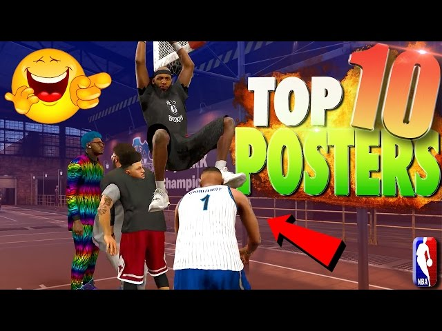 NBA 2K17 TOP 10 POSTERS You DONT Want To Happen To You