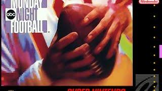 (EPISODE 1,057) RETRO GAMING: ABC MONDAY NIGHT FOOTBALL (SNES) DETROIT VS TAMPA BAY 1993