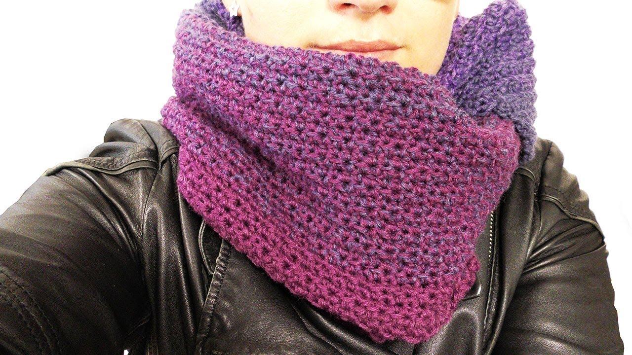 Dreiecks Tuch Häkeln Super Schöner Schal Für Den Herbst Winter