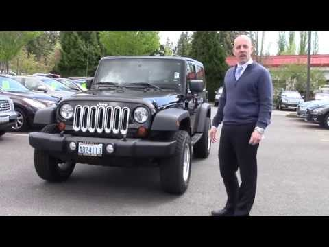 2010 Jeep Wrangler review and start up - A quick look at the 2010 Wrangler