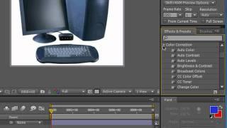 Эффекты и шаблоны в Adobe After Effects CS5 (14/49)