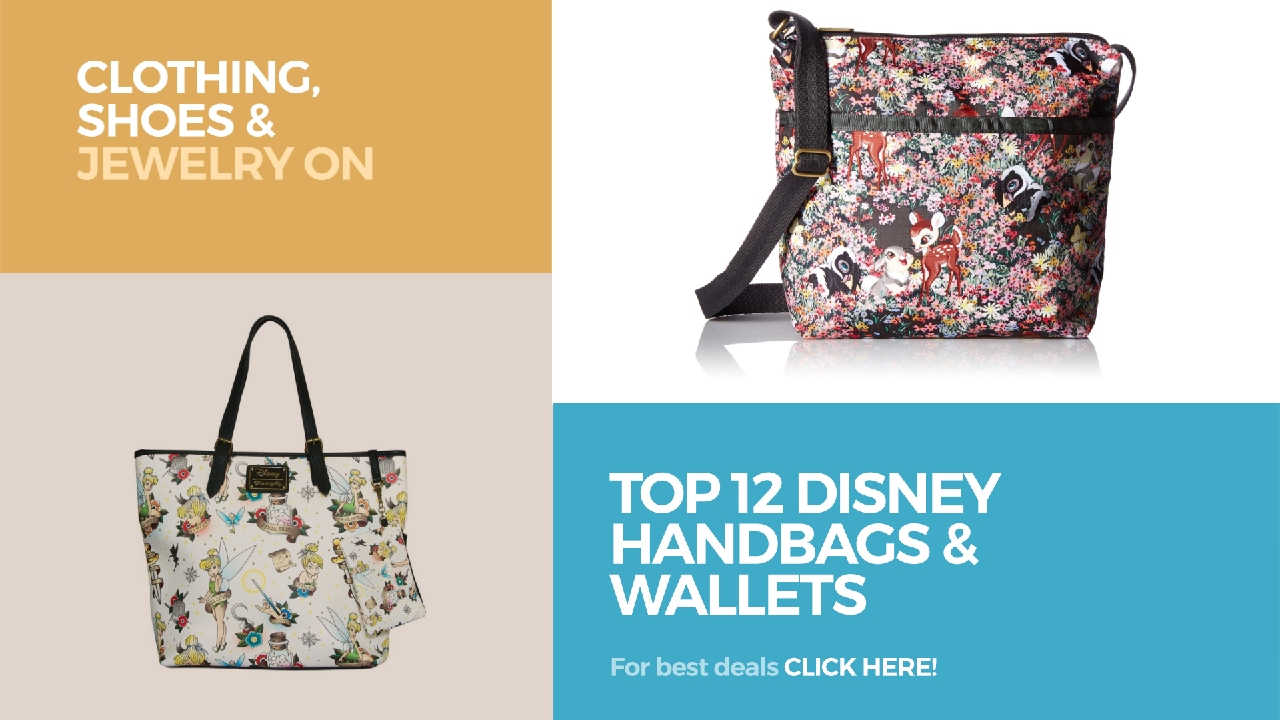 ded1b8ab50 Top 12 Disney Handbags   Wallets    Clothing
