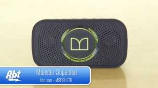 Monster Superstar HD Bluetooth Speaker Overview