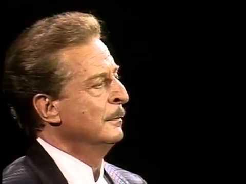 Alfredo KRAUS. No puede ser. La Tabernera del puerto. Salzburg1990.