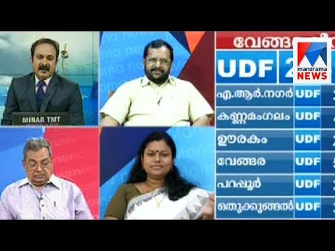 Vengara by-poll election result - Discussion  | Manorama News