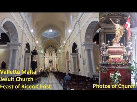 Valletta Jesuit Church - Circumcision Lord - Feast Risen Christ Photos 1 Peal 1,2,3 3 Bells 12