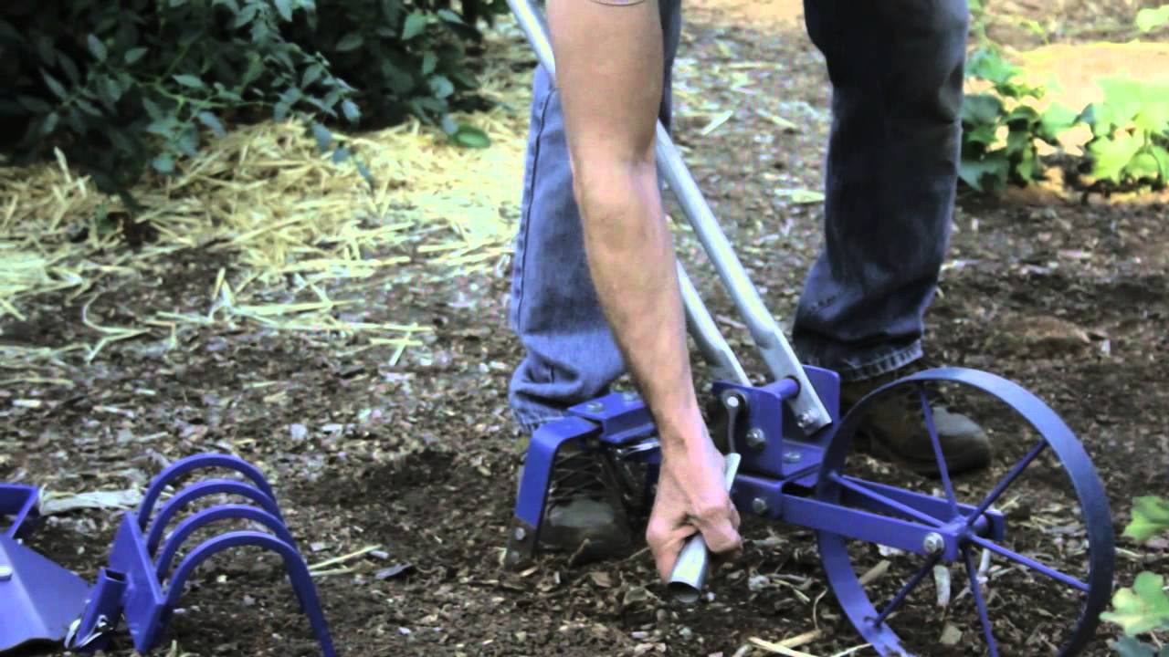 Wheel Hoe Garden Cultivator From Valley Oak Tools Doovi