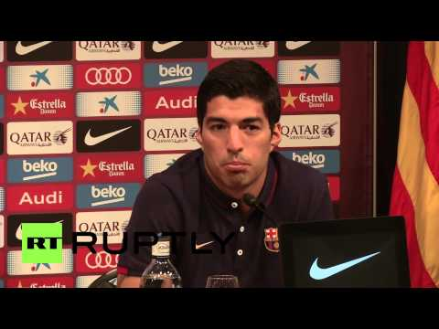 Spain: Luis Suarez dreamt of playing for Barca before he could bite