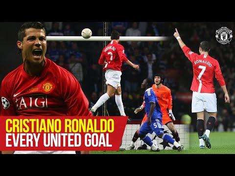 Cristiano Ronaldo    Every Manchester United goal so far