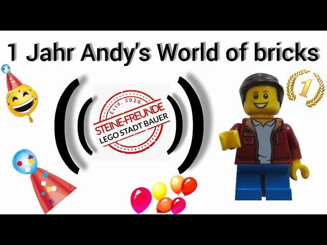 1 Jahr Andy's World of bricks - Das große Jubiläum
