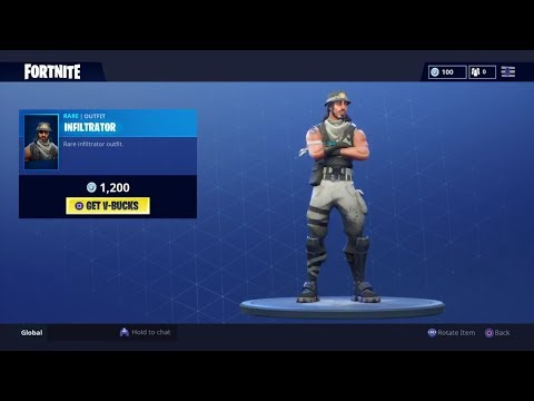 The Infiltrator is back! July 26th Item shop (Fortnite BR)