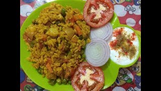 Simple and Tasty Tawa Pulav Recipe ... easy and quick..