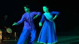 Contemporary Kathak Fusion Duet - Jin & Sweekruth