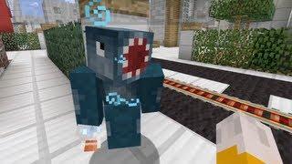 Minecraft Xbox - Drunk Squid - Newport City Tour - Part 1