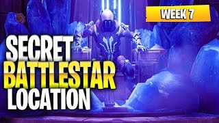 Fortnite Battle Royale Season 7 Week 7 Secret Battlestar Location (ACTUAL Star Location)