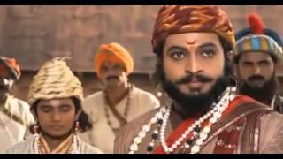 Raja Shivaji confronts Aurangzeb at Agra