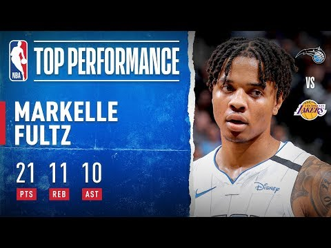 In The Zone - Magic first team under .500 to beat Lakers thanks to Fultz triple-double