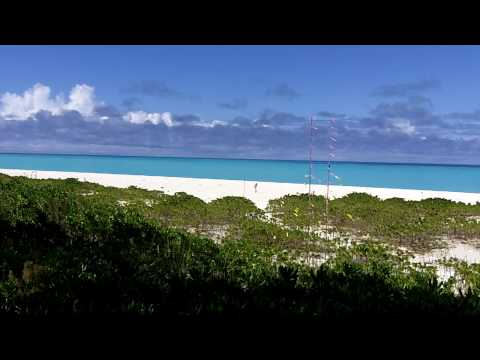 K4M, Midway Island Antennas on Beach